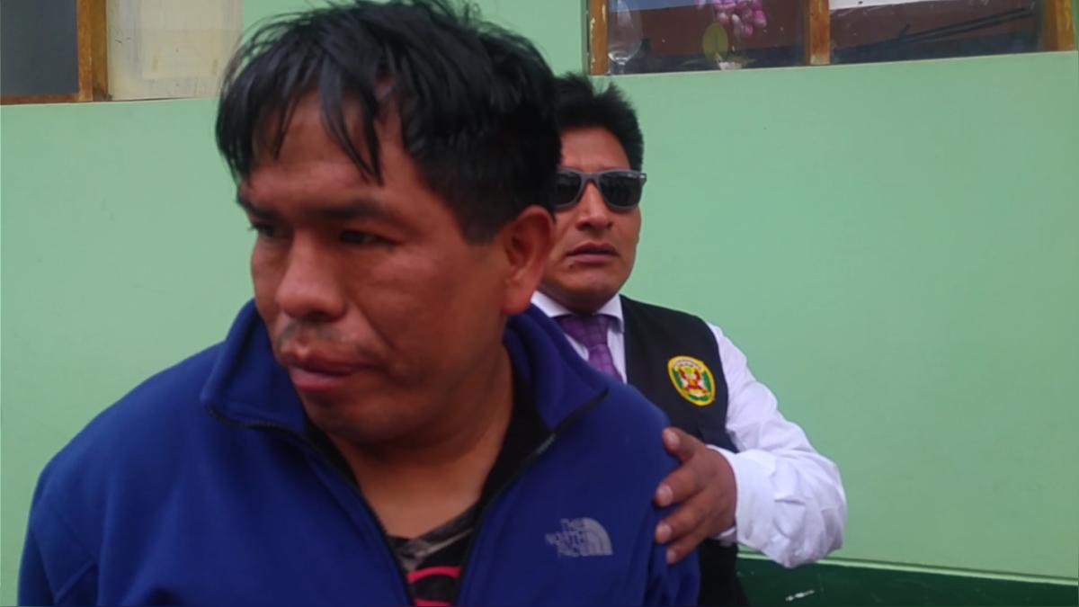 Dos de los involucrados fueron capturados esta madrugada  por la policía en vivienda del distrito de San Jerónimo.