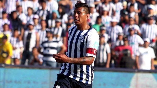 Rinaldo Cruzado llegó esta temporada a Alianza Lima procedente de César Vallejo.
