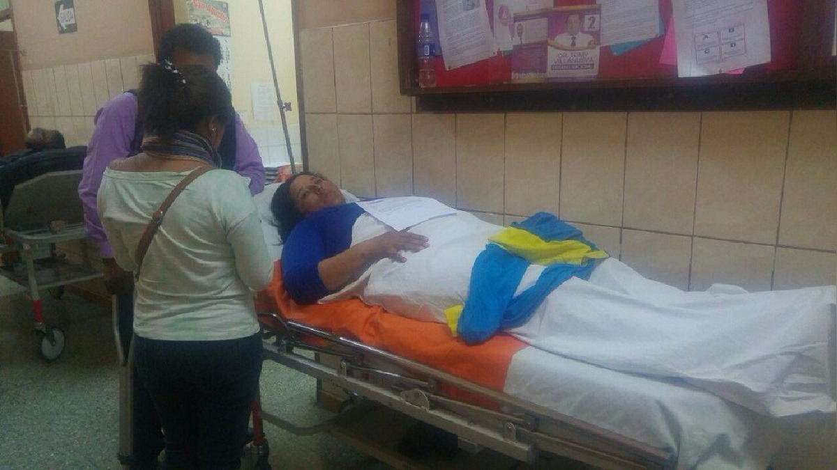 Liliana Riquelme sufrió lesiones tras intervención de Policía Municipal de José Luis Bustamante.