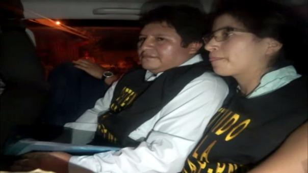 Detención de pastor y su esposa en Yurimaguas.
