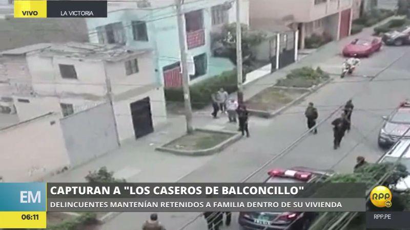 La Policía dio un nuevo golpe a la delincuencia en Lima.
