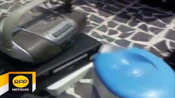 Recogen residuos electrónicos en Chiclayo