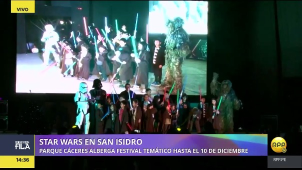 RPP Noticias estuvo en el inicio del Star Fest 2 en San Isidro. Puedes asistir a este festival hasta el domingo 10 de diciembre.