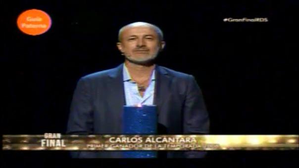 Así fue la presentación de Cárlos Alcántara