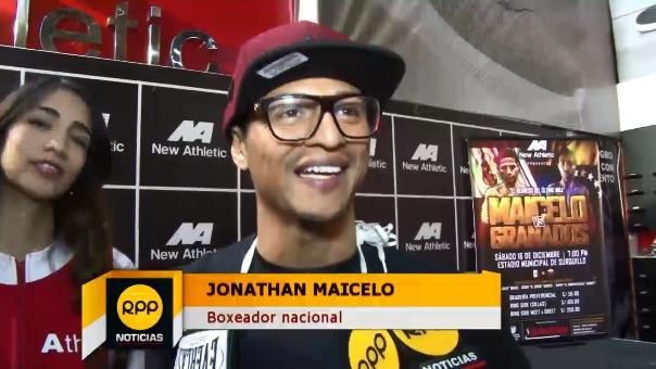Jonathan Maicelo estará en la pelea de fondo.