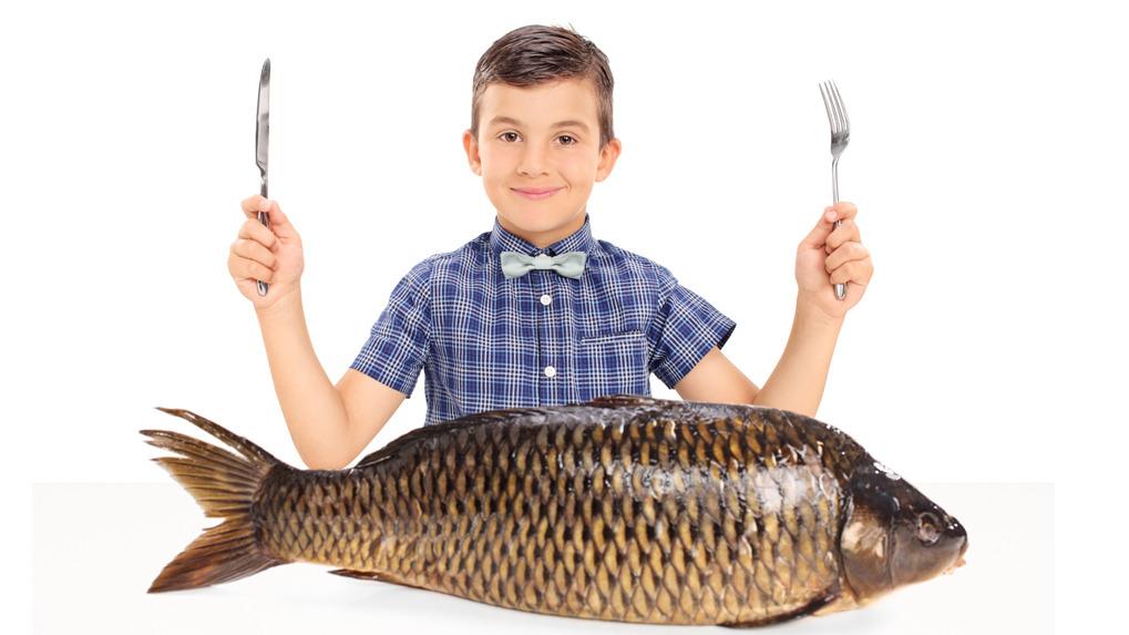 El pescado contiene ácio graso omega -3.