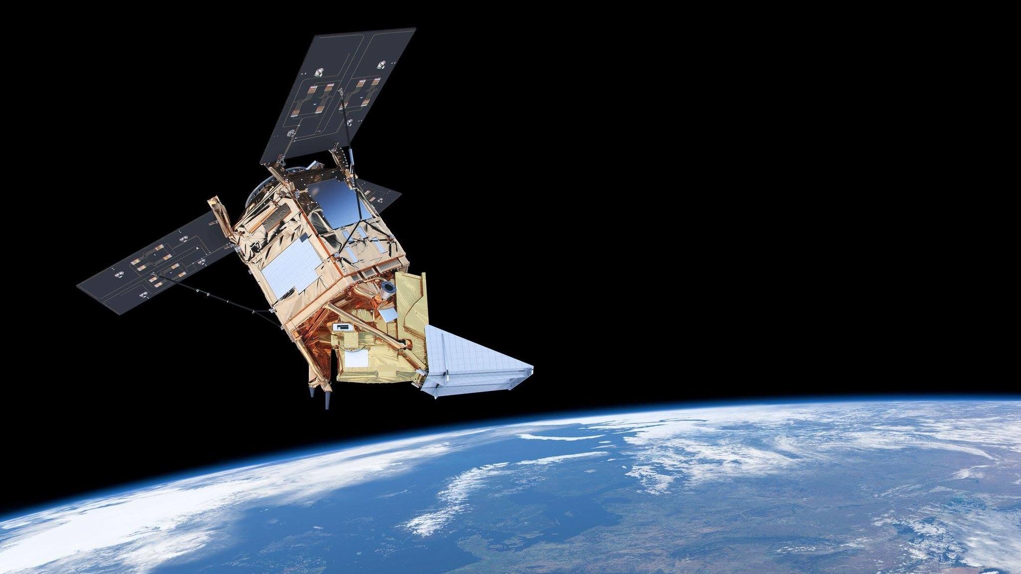 El satélite Sentinel 5 es destinado para monitorear la calidad del aire.