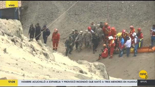 Cinco de los seis heridos han sido trasladados al hospital Daniel Alcides Carrión del Callao.