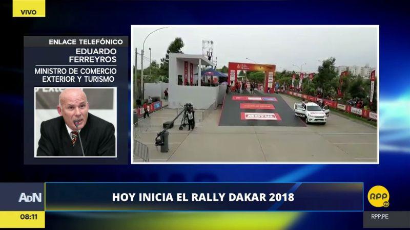 Los beneficios para el Perú por ser parte del Rally Dakar 2018 superarían los 400 millones de dólares.