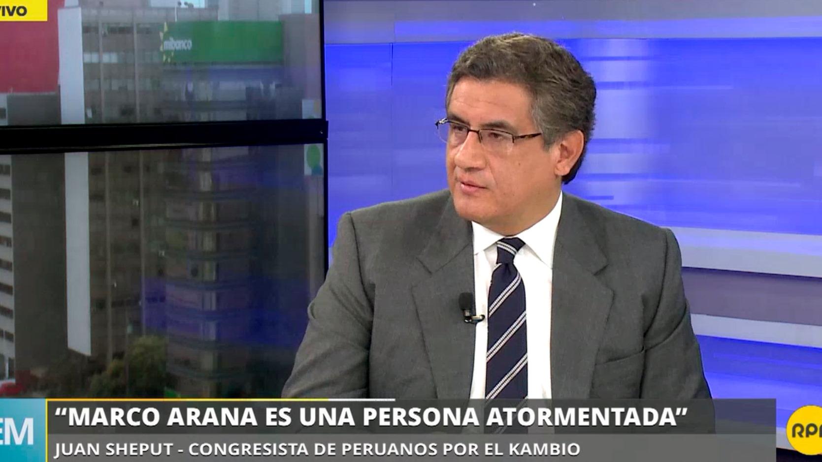 Juan Sheput dijo que este gabinete dará estabilidad al Gobierno.