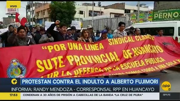 La marcha se realiza en varias ciudades del país.