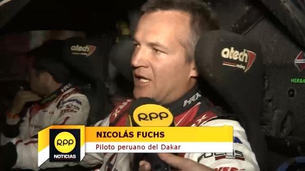 Nicolás Fuchs es el peruano mejor calificado en autos.