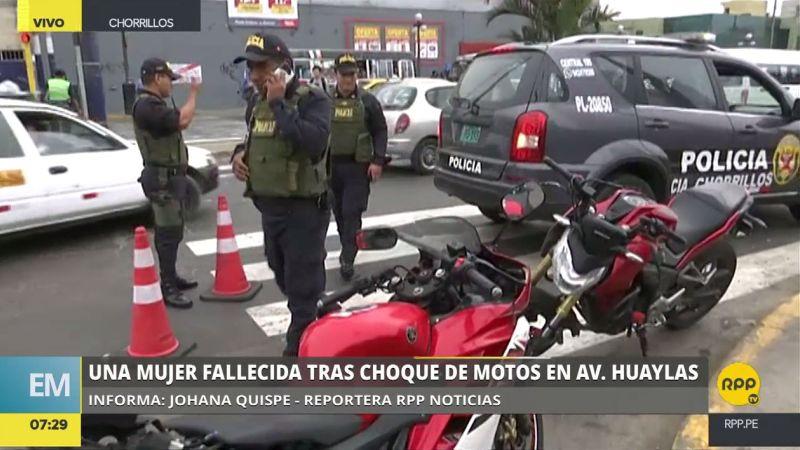 El accidente ocurrió en el cruce de la avenida Defensores del Morro y el jirón Comunidad Industrial.