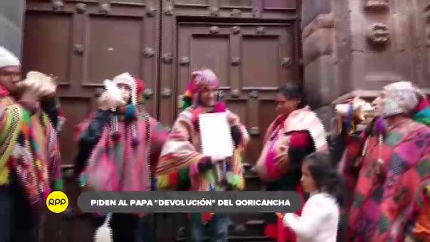 Organizaciones sociales y culturales de Cusco enviaron carta en la que piden al santo padre que el antiguo templo inca sea dispuesto para realizar ritos andinos.