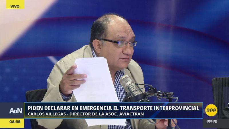 Carlos Villegas alertó que en Perú el 90% desconoce sus derechos cuando ocurre un accidente de tránsito.