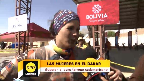 Laia Sanz habló en exclusiva con RPP Noticias sobre su participación en el Rally Dakar 2018.