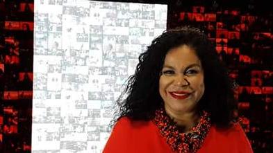 Eva Ayllón estuvo presente en el último homenaje de Augusto Polo Campos en junio de 2016.