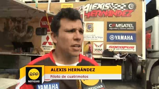 Alexis Hernández habló en exclusiva para RPP.