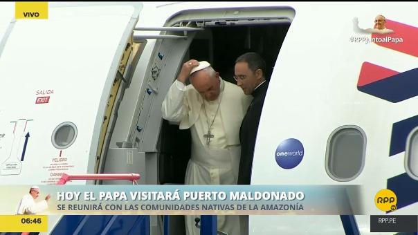 El Papa tiene agendadas reuniones con representantes de las comunidades indígenas.