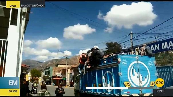 Situación en La Oroya.
