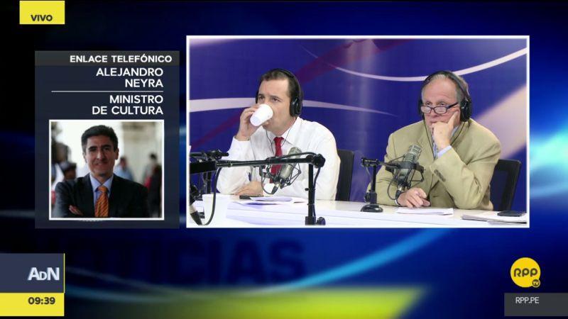 Alejandro Neyra cuestionó la actitud del camionero Jainer Jesús Flores Vigo.