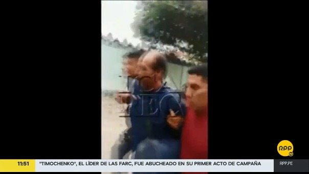 La captura del presunto asesino de niña de 11 años.