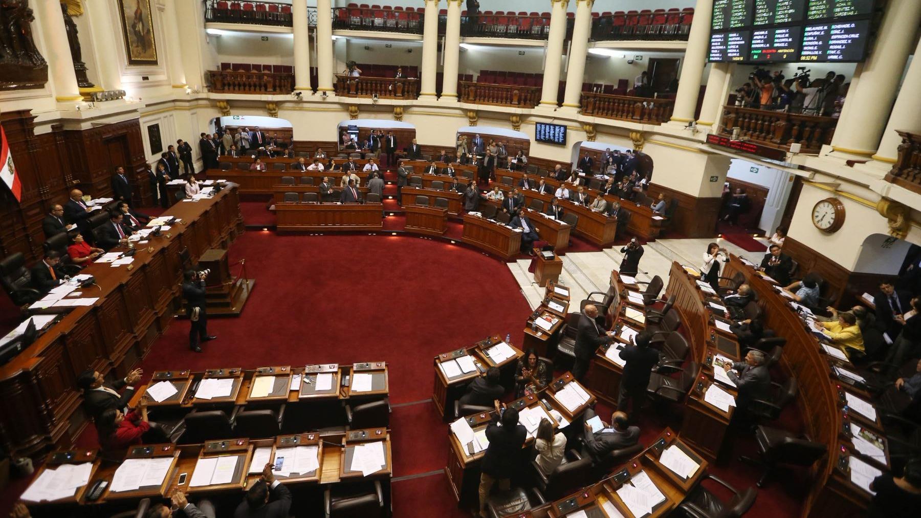 Congresistas evaluarán la posibilidad de que el Perú se retire del Pacto de San José.