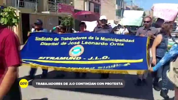 Empleados iniciaron huelga