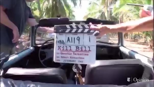 Aquí puedes ver el video del accidente de Uma Thurman durante el rodaje de Kill Bill