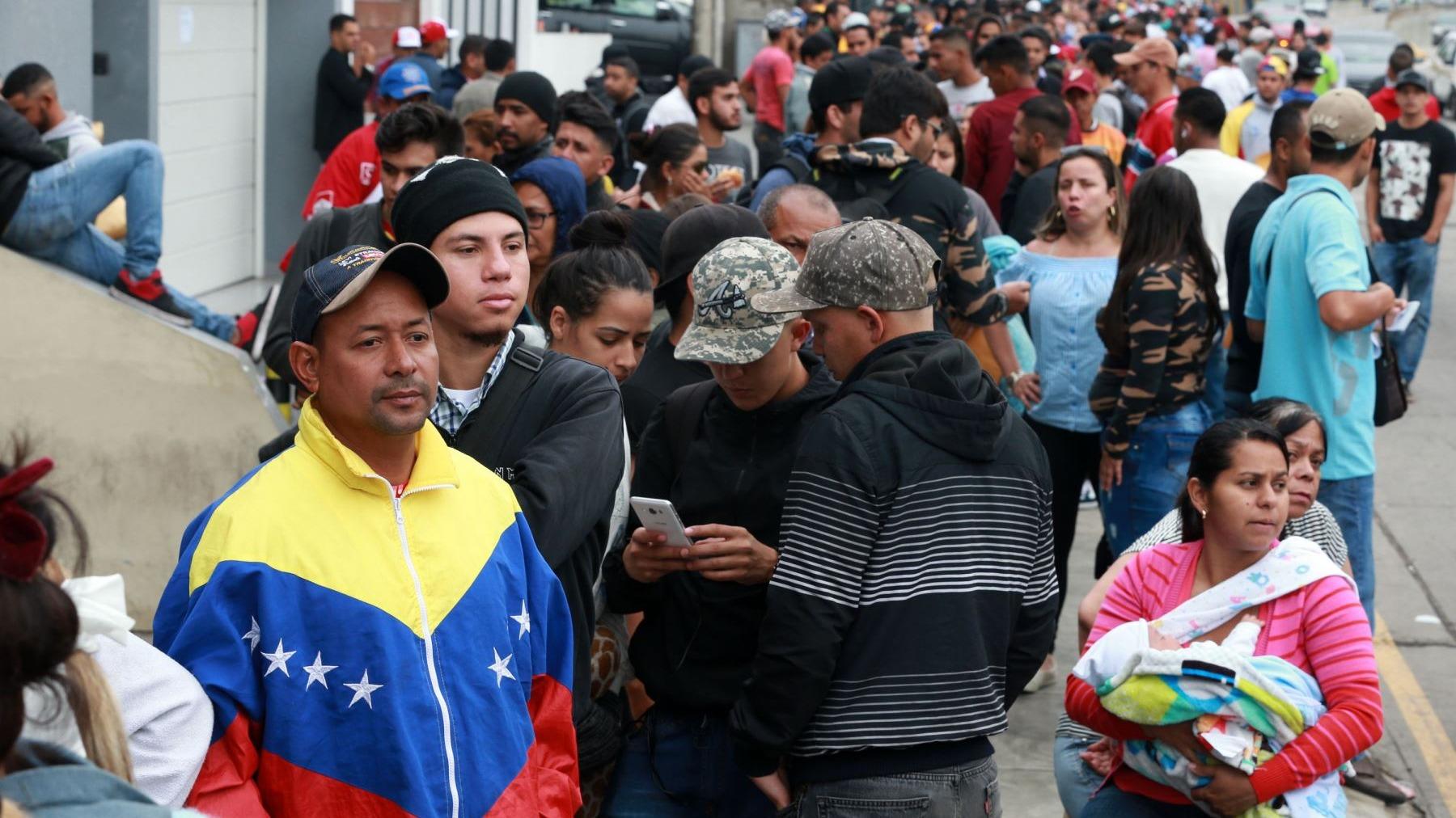 La superintendencia de Migraciones estima que en el Perú hay más de 100 mil venezolanos.