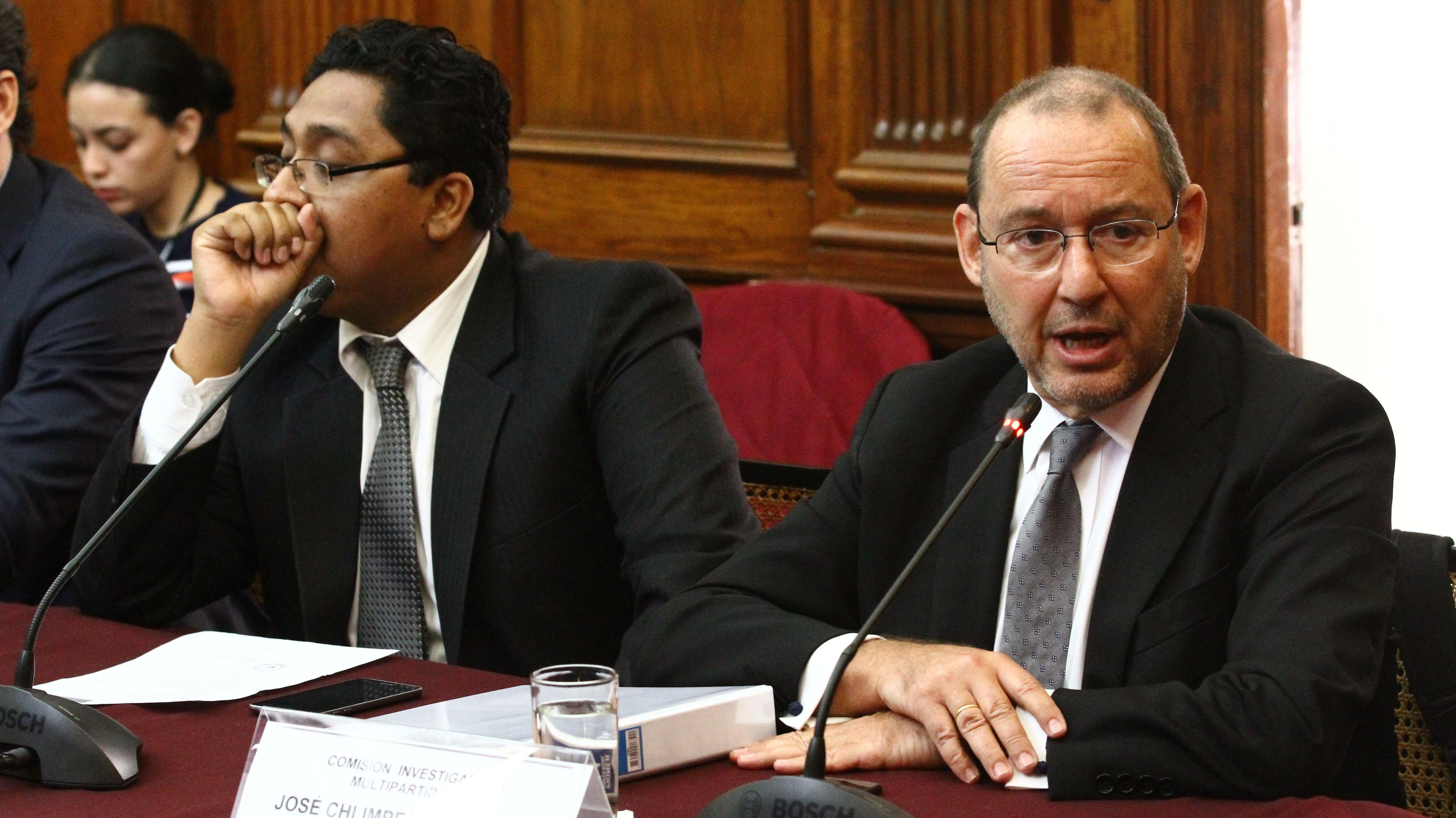 El secretario general de Fuerza Popular permaneció por cuatro horas en la Comisión Lava Jato.