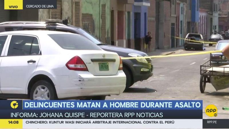 Testigos escucharon hasta seis disparos durante el asalto.