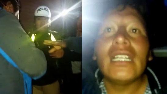 Jhony Quispe Larico de 37 años agredió a la suboficial Kelly Paniagua Cándida.