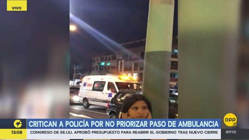 """Susan Castro calificó de """"indignante"""" lo ocurrido anoche en San Borja."""