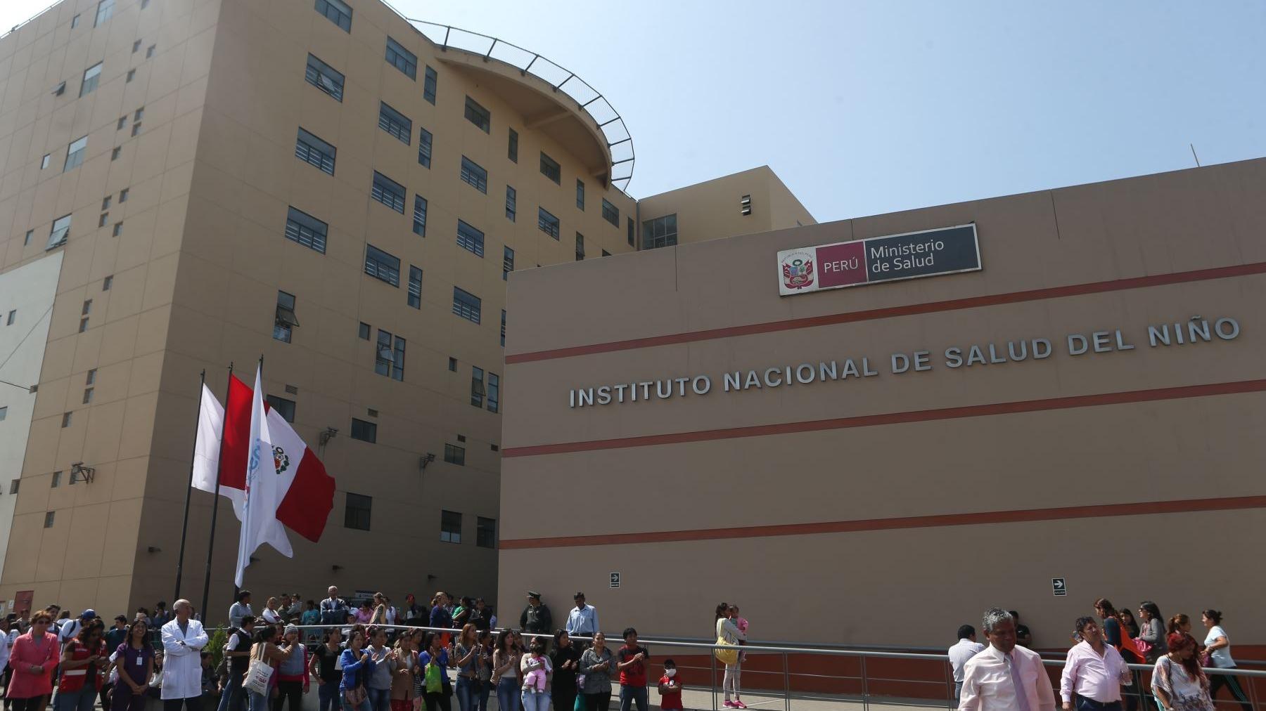 La Doctora Zulema Tomas, Directora General del Instituto Nacional de Salud del Niño de San Borja, se comunicó con RPP Noticias para disculparse y aclarar lo sucedido