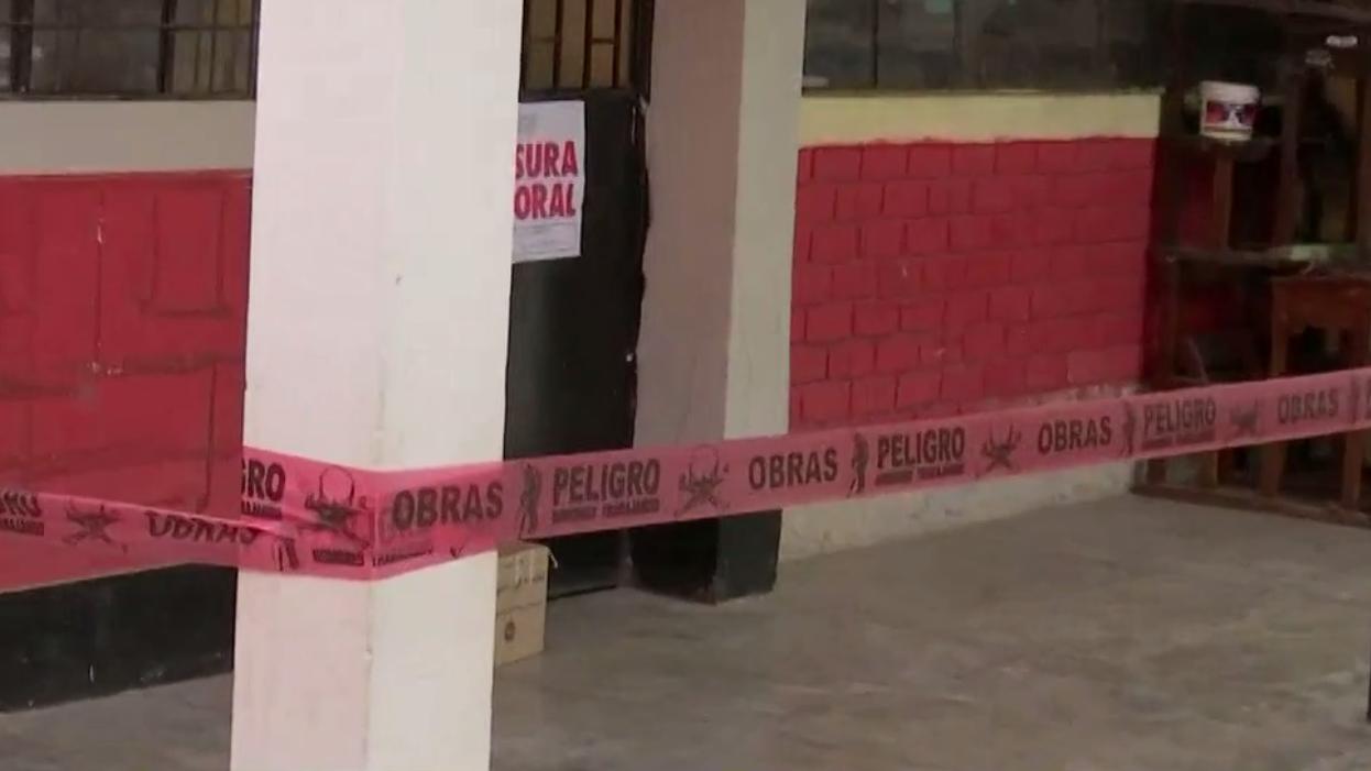La Defensoría del Pueblo alertó sobre el mal estado de 53 colegios en Lima y Callao el pasado 31 de enero.