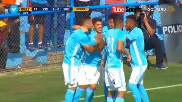 Resumen y goles del triunfo de Sporting Cristal por 4-1 sobre Sport Rosario.
