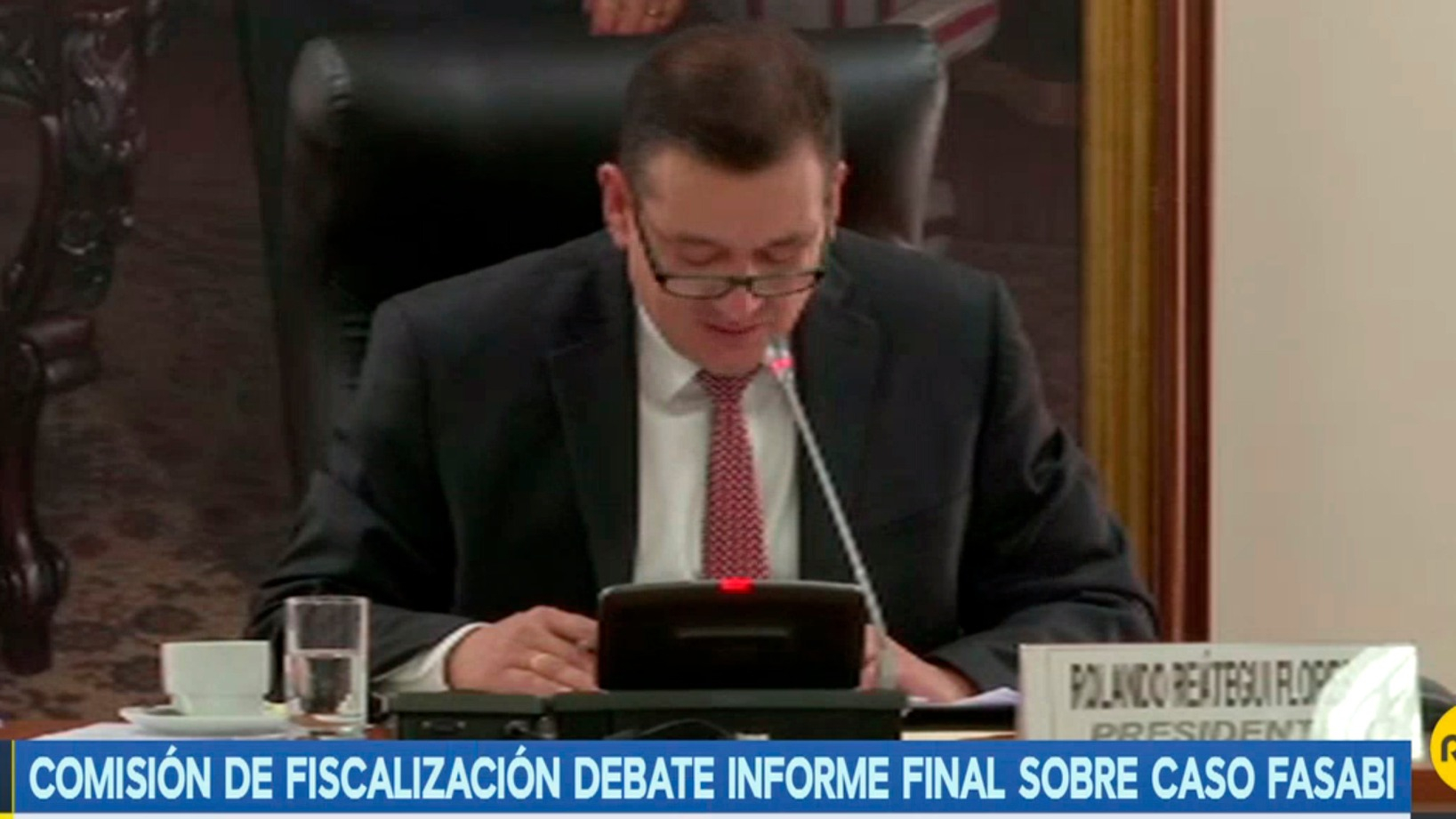 La Comisión de Fiscalización debate informe final sobre caso Fasabi