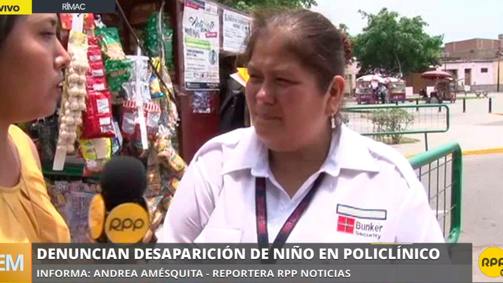 Denuncian la desaparición de un niño en policlínico
