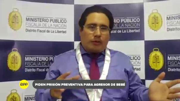 Fiscal a cargo Daniel Macedo Rabines, de la Primera Fiscalía Provincial Penal Corporativa de Trujillo.
