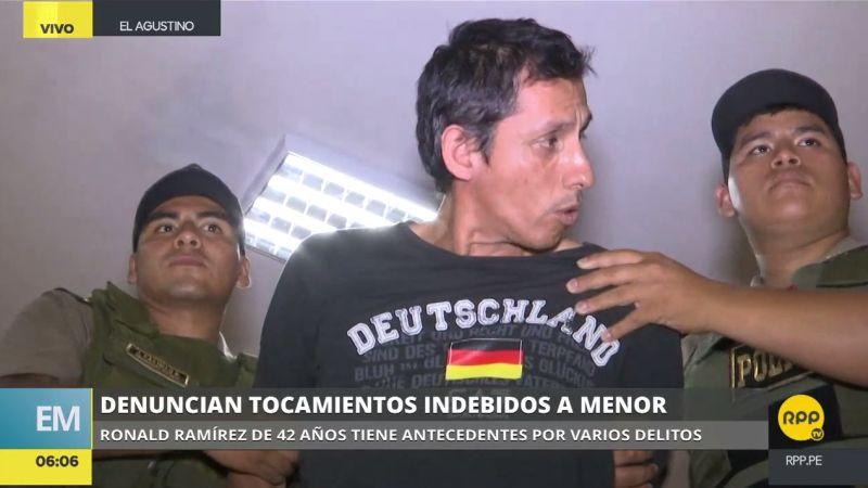 Ronald Ramírez Melgar (42) presenta antecedentes por diversos delitos, como estafa, maltrato a su conviviente, robo, entre otros.