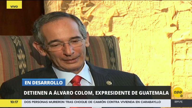 Aparte de Álvaro Colom, fueron detenido varios exministros del país centroamericano.