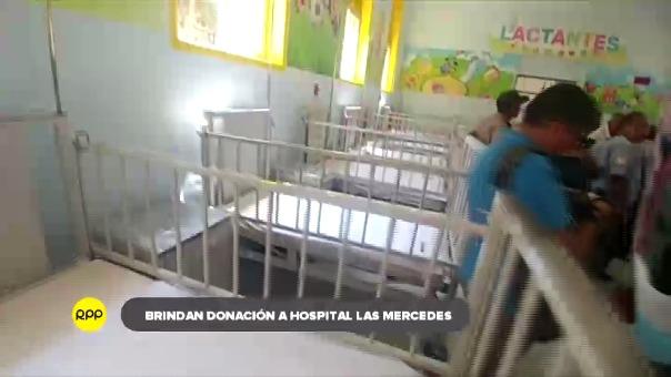Modernas camas en hospital