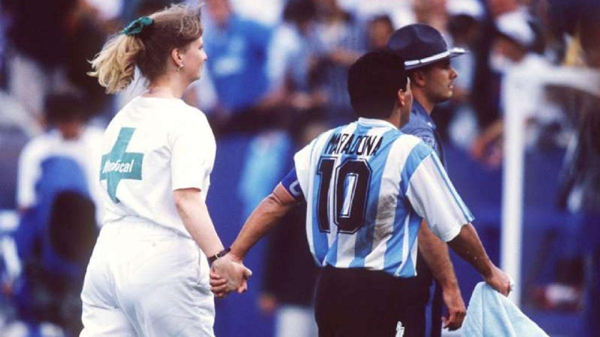 Informe de RPP sobre el dóping de Maradona.