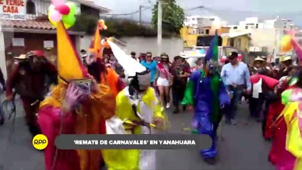 Remate de Carnaval' se realizó en Yanahuara.