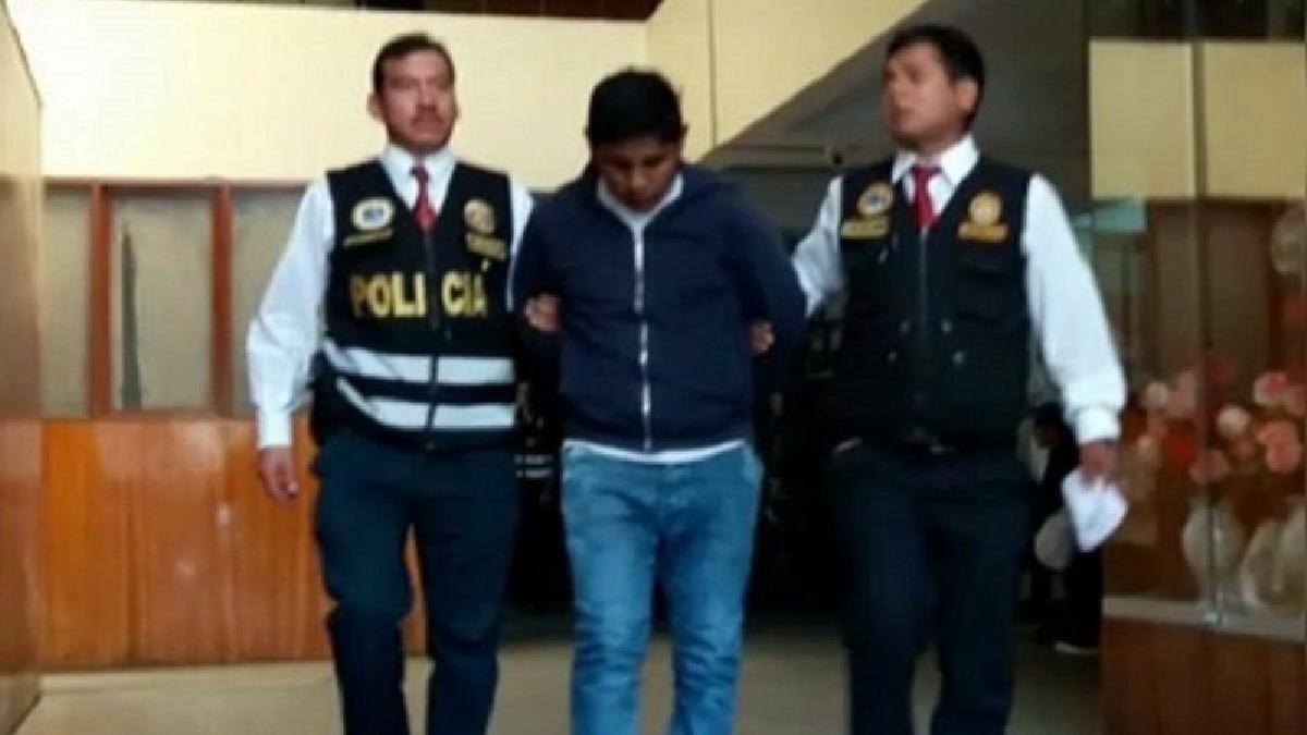 Armando Mamani Jaen de 28 años captó a unas 20 niñas.