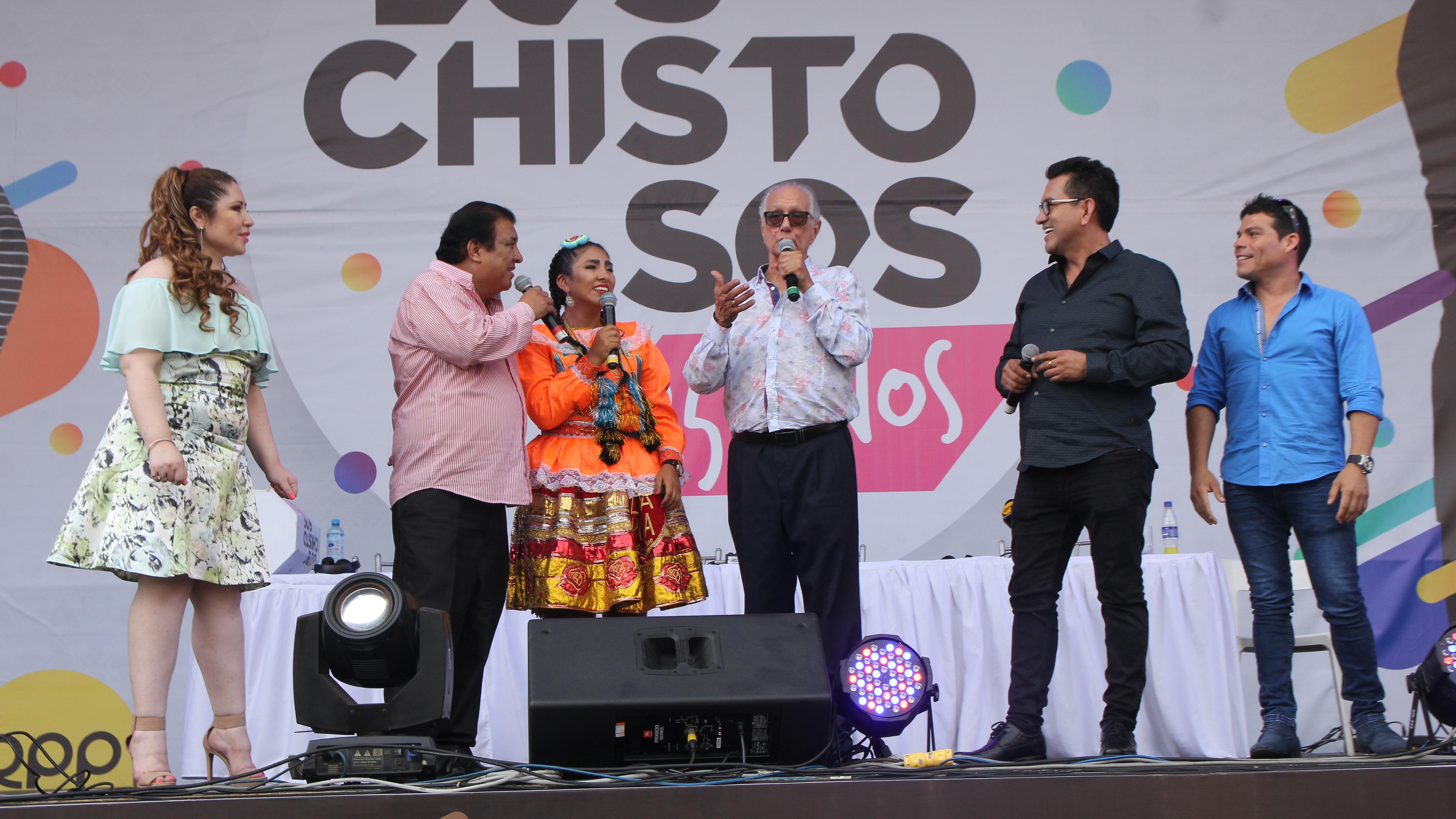 """""""Para mí es un orgullo haber formado este grupo de """"Los Chistosos"""""""