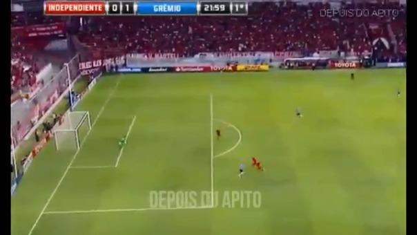 Mira los goles del duelo por la Recopa Sudamericana entre Independiente y Gremio.