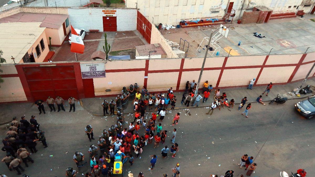 El centro de rehabilitación Floresta, en Trujillo, donde un incendio causó la muerte de cinco internos este miércoles.