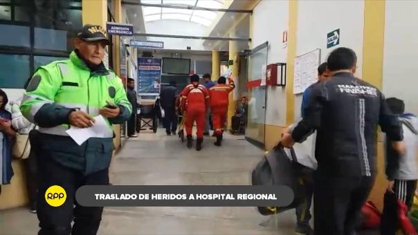 Hospital Regional de Ayacucho.